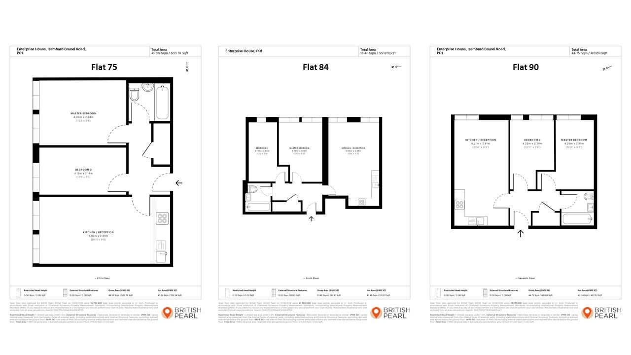 Floor plan - Portsmouth 2 Floorplan