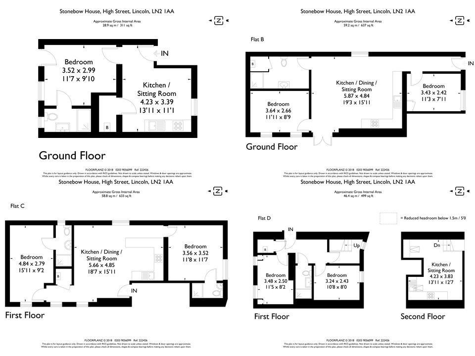 Floor plan - Lincoln Floorplan