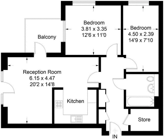 Floor plan - Acton floorplan